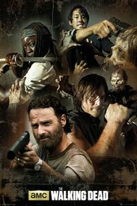 Poster Collage. Walking Dead 61x91,5 cm.