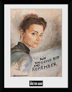 Foto in cornice Doctor Who. Clara Painting