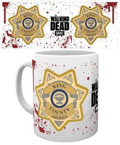 Tazza The Walking Dead. Sheriff Badge
