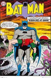 Poster Batman Comic. Robin Dies At Dawn 61x91,5 cm.