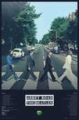 Idee regalo Poster Abbey Road Tracks Beatles 61x91,5 Cm. GB Eye