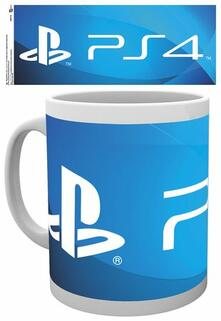 Tazza Playstation. Ps4 Logo