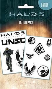 Tatuaggio temporaneo Halo 5. Mix