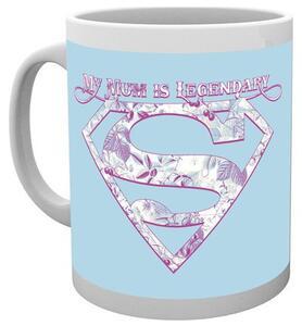 Tazza Superman. Mum Legendary