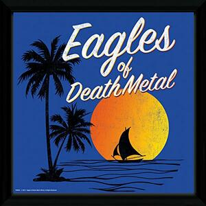 Stampa in Cornice Eagles Of Death Metal. Sunset