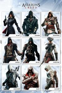 Poster Assassin's Creed. Compilation 61x91,5 cm.
