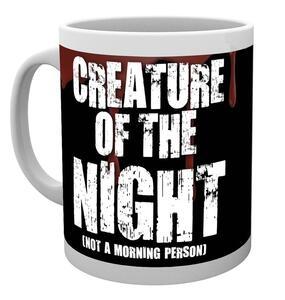 Tazza Halloween. Creature of the Night - 2