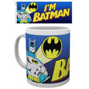 Tazza Batman Comic. I'm Batman Bold