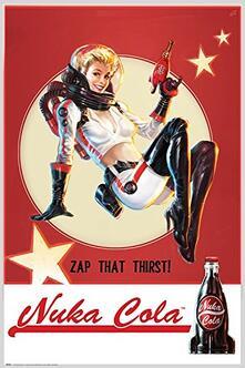Poster Fallout 4. Nuka Cola 61x91,5 cm.