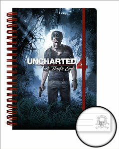Cartoleria Quaderno A5 Uncharted 4. Cover GB Eye