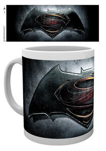 Tazza Batman v Superman. Logo