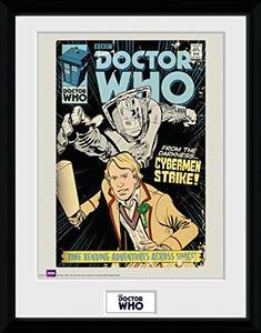Stampa In Cornice 30x40 cm. Doctor Who. Strike