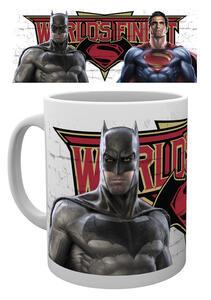 Tazza Batman v Superman. Worlds Finest