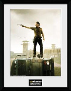 Stampa In Cornice 30x40 cm. Season 3. Walking Dead
