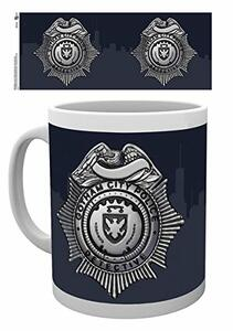 Tazza Gotham. Police Badge