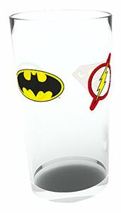 Bicchiere Dc Comics. Iconic Logos