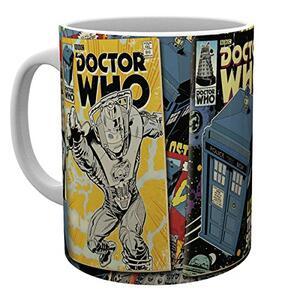 Tazza Doctor Who. Comics