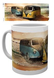Tazza VW Camper. Beach