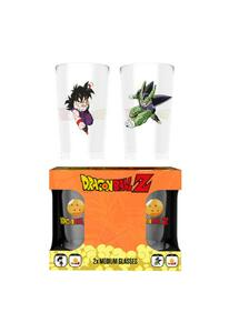 Set 2 Bicchieri Dragon Ball Z. Goku Vs Cell Medium