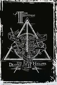 Poster Harry Potter. Deathly Hallows Graphic 61x91,5 cm.