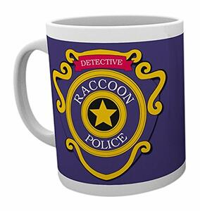 Tazza Resident Evil. Racoon Police