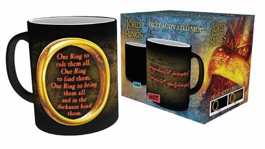 Tazza Termosensibile Lord Of The Rings. One Ring