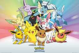Idee regalo Poster Pokemon. Eevee 61x91,5 cm. GB Eye