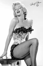 Idee regalo Poster Marilyn Monroe. Table 61x91,5 cm. GB Eye