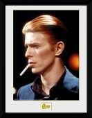 Idee regalo Stampa In Cornice 30x40 cm. David Bowie. Smoke GB Eye