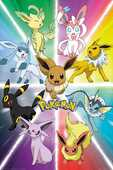 Idee regalo Poster Pokemon. Eevee Evolution 61x91,5 cm. GB Eye
