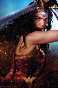 Poster Wonder Woman. Defend 61x91,5 cm.