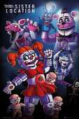 Idee regalo Poster Five Night At Freddy's. Sister Location 61x91,5 cm. GB Eye