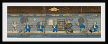 Stampa In Cornice 75x30 cm. Fallout. Special