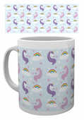 Idee regalo Tazza Unicorns. Pattern GB Eye