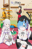 Idee regalo Poster Maxi Re-Zero. Cats GB Eye