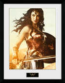 Idee regalo Stampa in Cornice Wonder Woman. Sword GB Eye