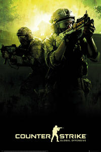 Poster Counter Strike. Team