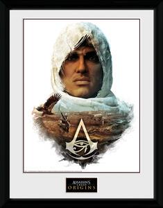 Stampa in cornice 30 x 40 cm Assassin's Creed Origins. Head