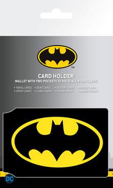 Portatessere Batman Comics. Logo