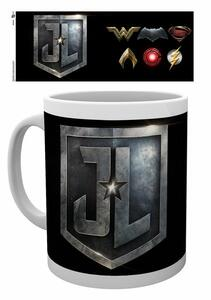 Tazza Justice League Movie. Logos