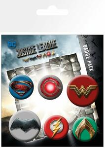 Badge Pack Justice League Movie. Mix