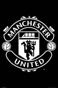 Poster Maxi 61x91,5 Cm Manchester United. Crest 17/18