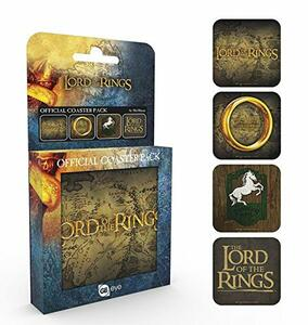 Set 4 Sotobicchieri Lord Of The Rings. Mix