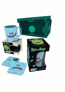 Set Tazza+Sottobicchiere Rick & Morty. Meeseeks 2018