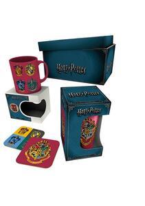 Set Tazza+Sottobicchiere Harry Potter. Crests