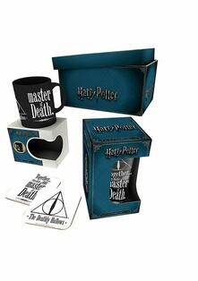 Set Tazza+Sottobicchiere Harry Potter. Deathly Hallowes