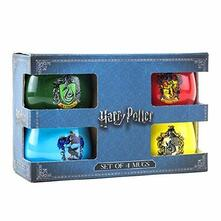 Set 4 Tazze Harry Potter. House Crests