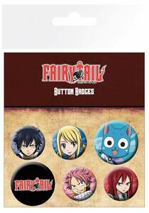 Badge Pack Fairy Tail. Characters