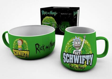 Set Colazione Rick & Morty. Get Schwifty