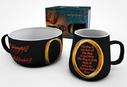 Set Colazione Lord Of The Rings. One Ring